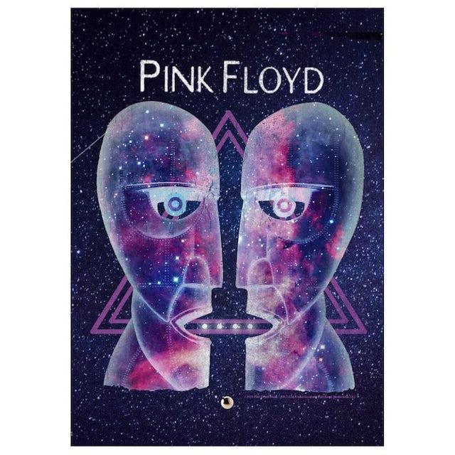 Pink Floyd Celestial Staredown Glass Print