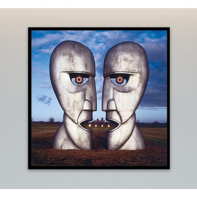 Pink Floyd Division Bell - Metal Heads Canvas Wall Art