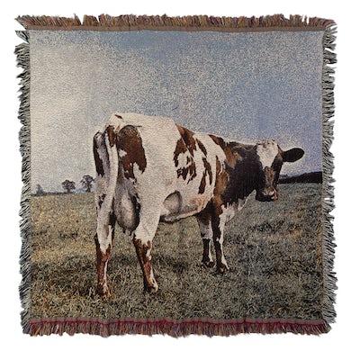 Pink Floyd Atom Heart Mother Throw Blanket