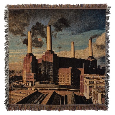 Pink Floyd Animals Throw Blanket
