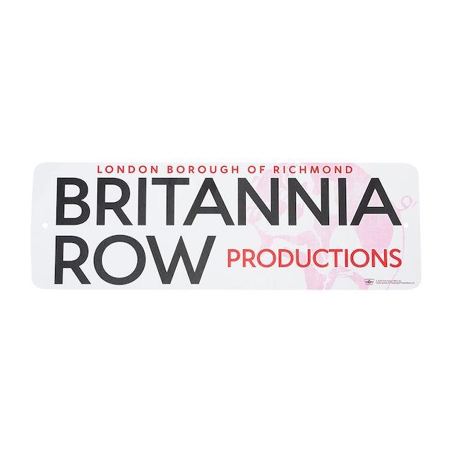 Pink Floyd Britannia Row Productions Sign