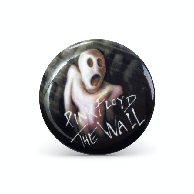 Pink Floyd Roger Waters The Wall Scared Button