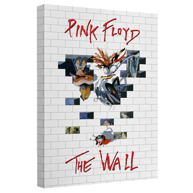 Pink Floyd Roger Waters/The Wall 2-Canvas Wall Art With Back Board-White-[20 X 30]