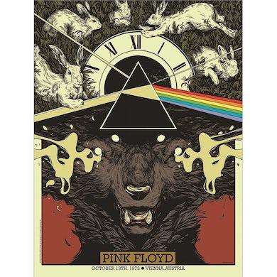 Pink Floyd Vienna 1973 Concert Poster