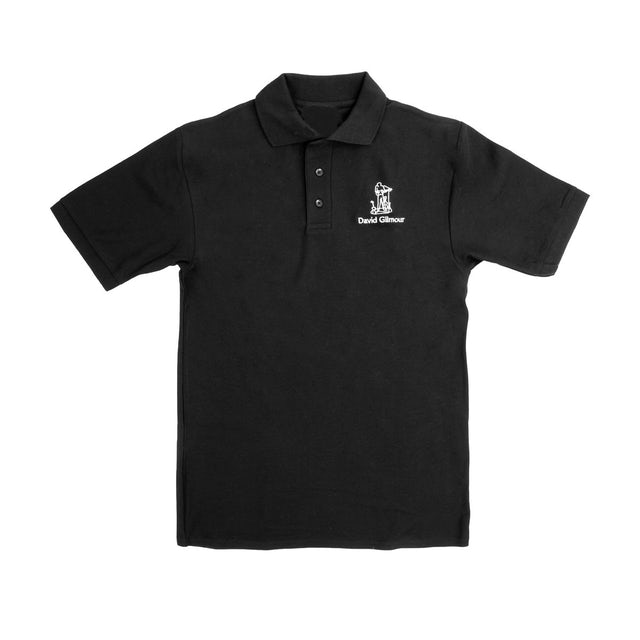 Pink Floyd David Gilmour Guitar Embroidered Polo