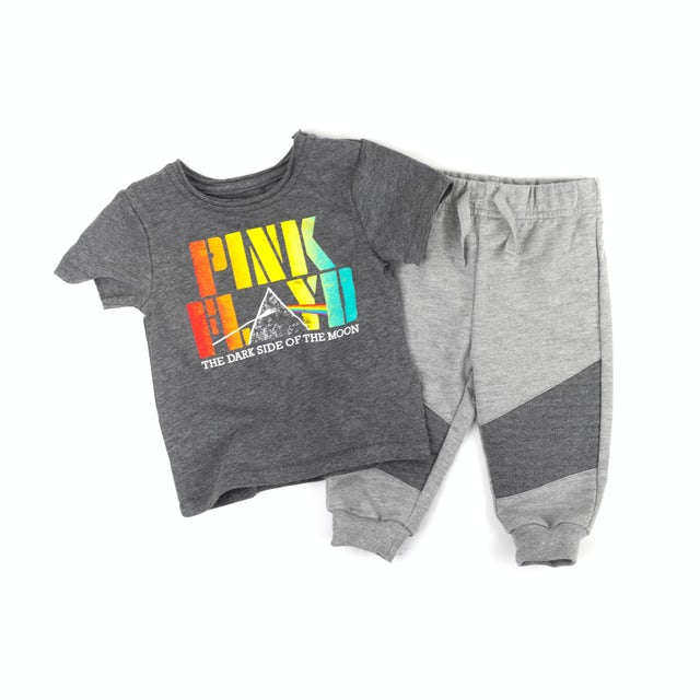 Pink Floyd The Dark Side of the Moon Toddler Shirt & Pants Set