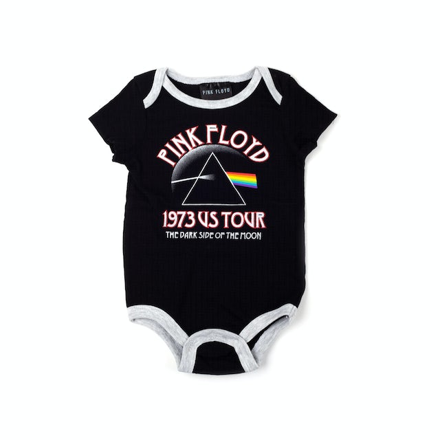 Pink Floyd The Dark Side of the Moon Tour Black Onesie