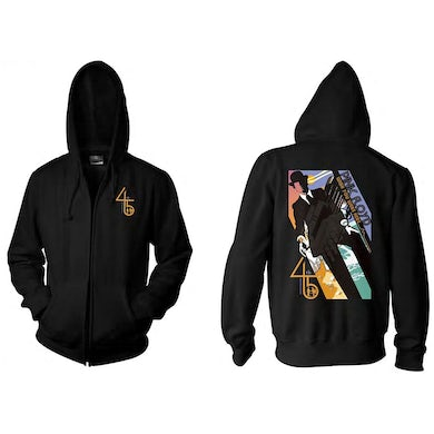 Pink Floyd Wish You Were Here 45th Anniversary Zip Hoodie