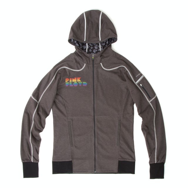 Pink Floyd Shine on You Crazy Diamond Fitted Cycling Zip Hoodie