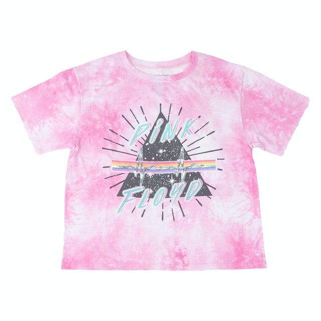 Pink Floyd Prism Heartbeat Pink Ladies T-shirt