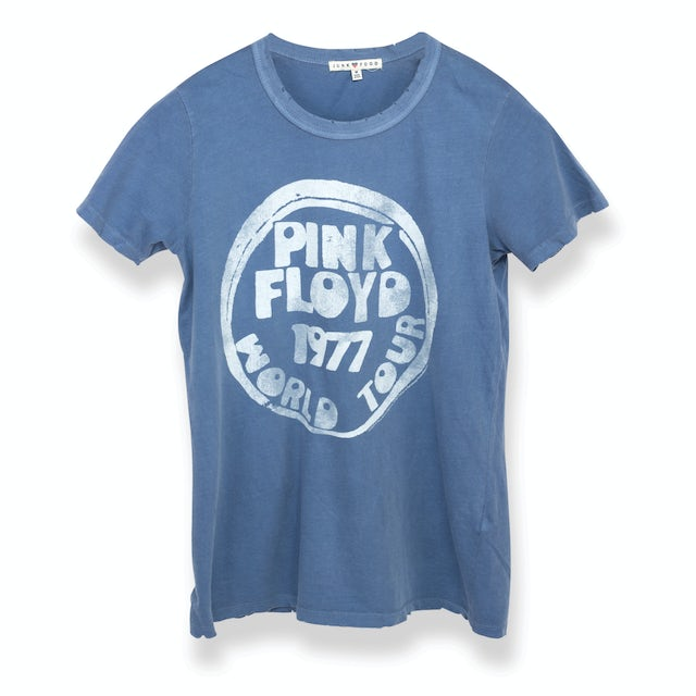 Pink Floyd Bubble Letter 1977 World Tour Women's T-Shirt