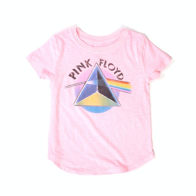 Pink Floyd Kids Ombre Dark Side Prism Pink T-shirt