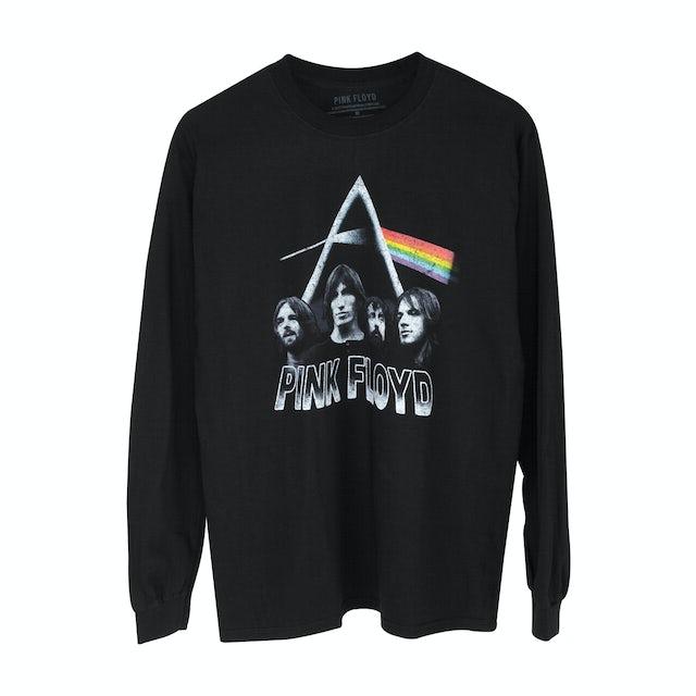 Pink Floyd Dark Side Band Photo Black Longsleeve T-Shirt