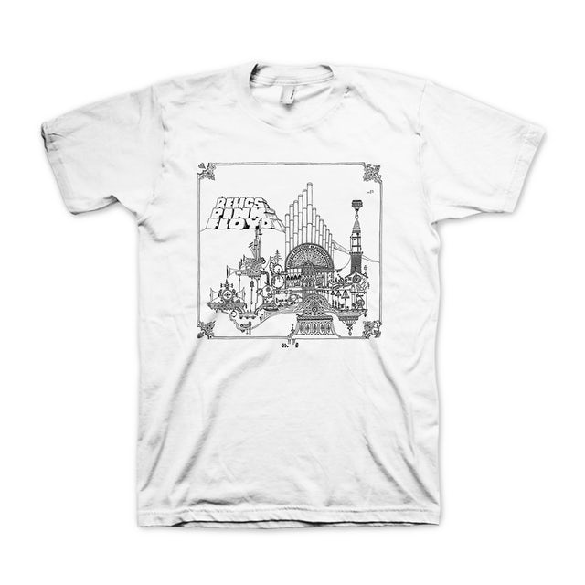 Pink Floyd Relics Rerelease Tee 2018 by Nick Mason