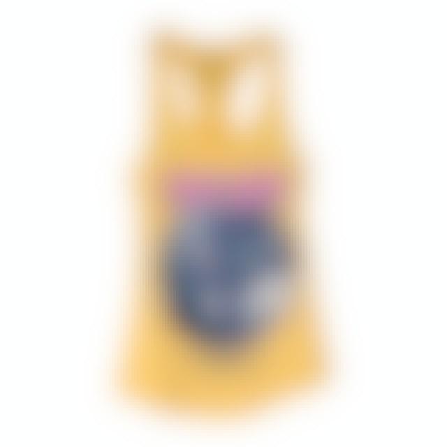 Pink Floyd New York City July 4th Circle Logo Yellow Tank Top