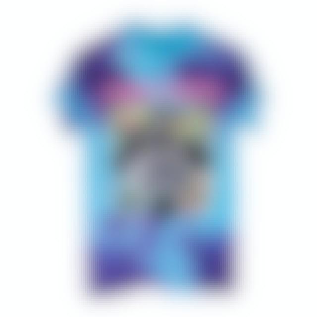 Pink Floyd The Dark Side of the Moon Blue Tie Dye T-Shirt