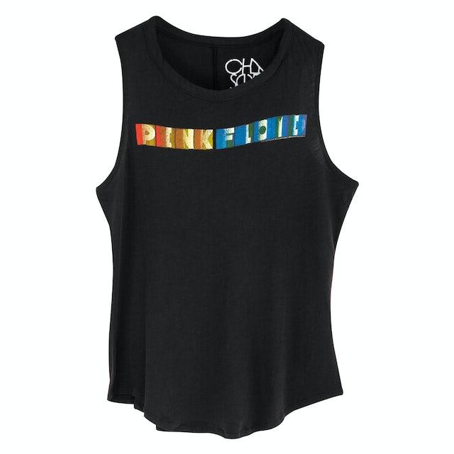 Pink Floyd Vintage Color Flash Black T-Shirt