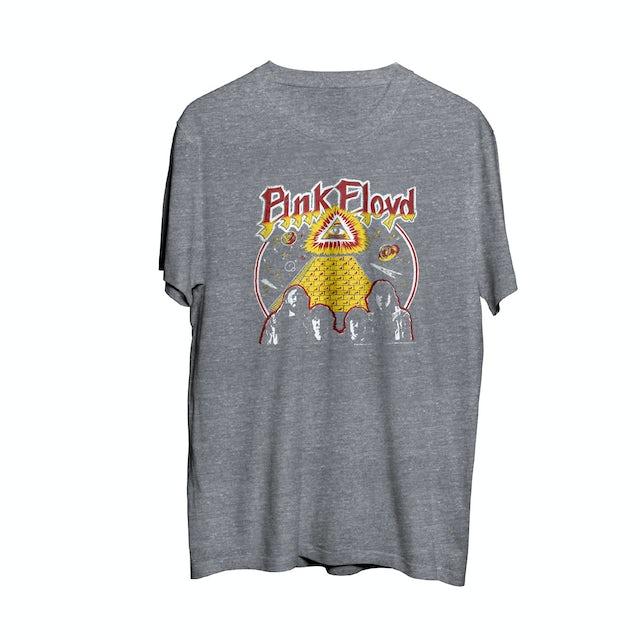 Pink Floyd All Seeing Eye Grey Crewneck T-Shirt