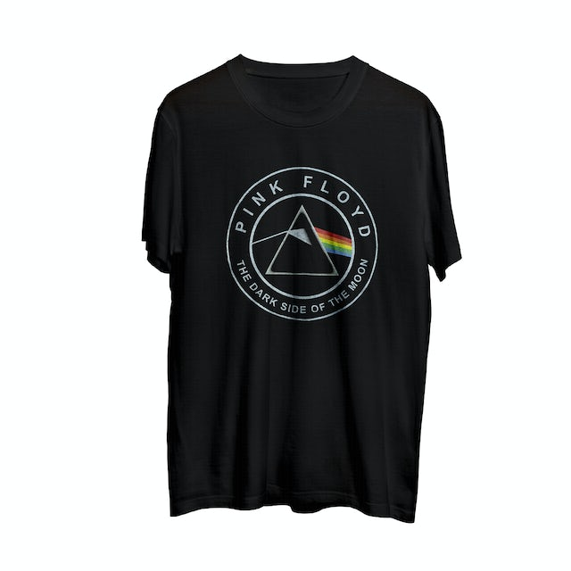 Pink Floyd The Dark Side of the Moon Circle Logo T-Shirt