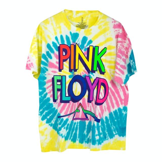 Pink Floyd TDSOTM 3D Letter Tie Dye