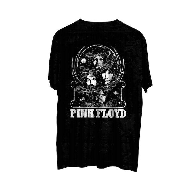 Pink Floyd Band Photo Black Athletic T-Shirt