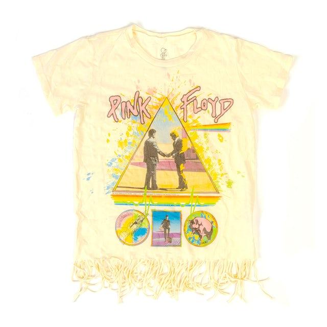 Pink Floyd Kids Wish You Were Here Fringe White T-shirt