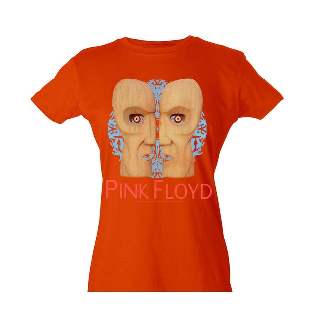 Pink Floyd Women's Wood Head T-Shirt