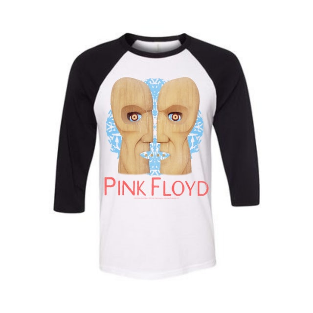 Pink Floyd Wood Head Raglan