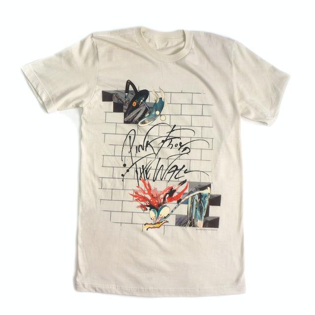 Pink Floyd The Wall Illustrated Album Art T-Shirt