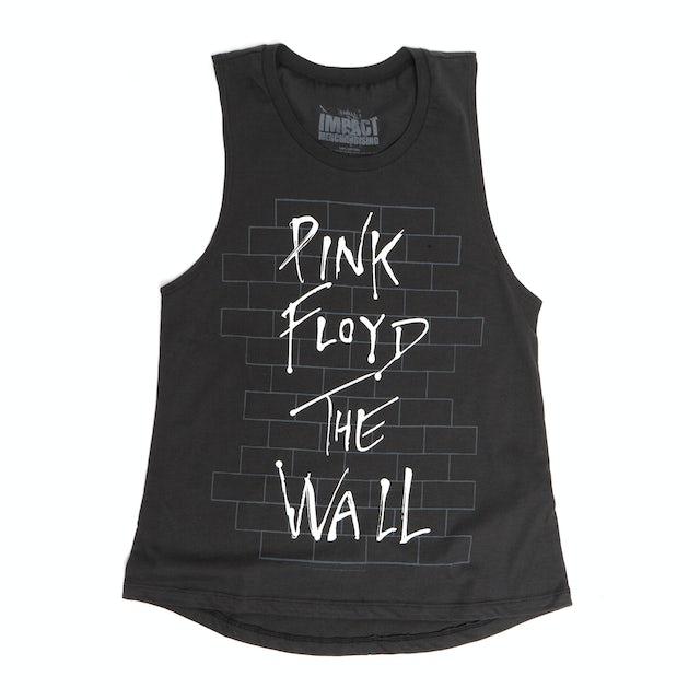 Pink Floyd Women's Charcoal Wall Muscle Tank