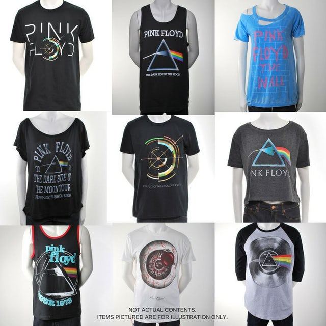 Pink Floyd Women's Grab Bag With Accessory