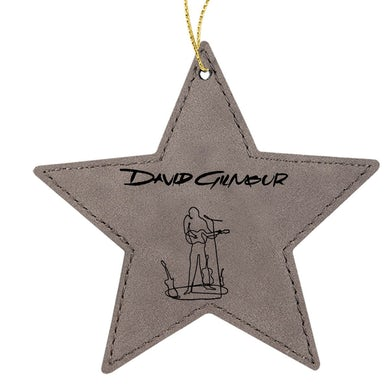 David Gilmour Wireman Star Leatherette Ornament