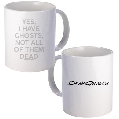 David Gilmour Yes I Have Ghosts Lyrics Ceramic Mug