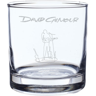 David Gilmour Wireman Laser-Etched Whiskey Glass
