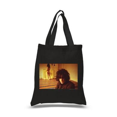 Syd Barrett Madcap Black Tote Bag