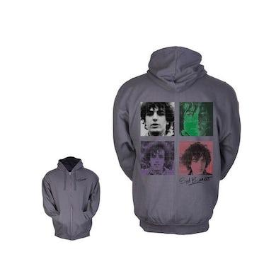 Syd Barrett Four Shades Charcoal Hoodie