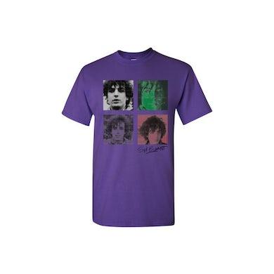 Syd Barrett Four Shades Purple T-Shirt