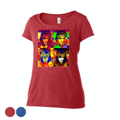 Syd Barrett Phase 4 Scoop Neck T-Shirt
