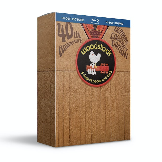 Woodstock Woodstock 40th Anniversary Ultimate Collector's Edition Blu-Ray
