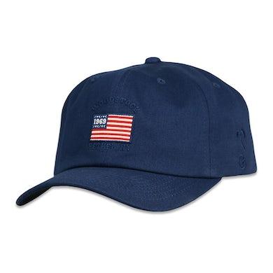 Woodstock Flag Navy Adjustable Hat