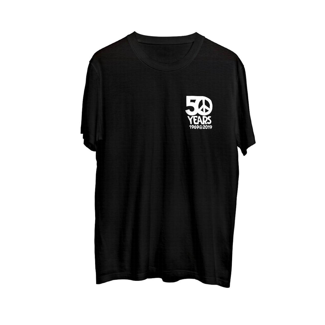 bcc3c1d172 Woodstock 50th Anniversary Black T-Shirt