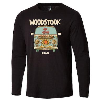 Woodstock Happy Camper Long Sleeve T-Shirt