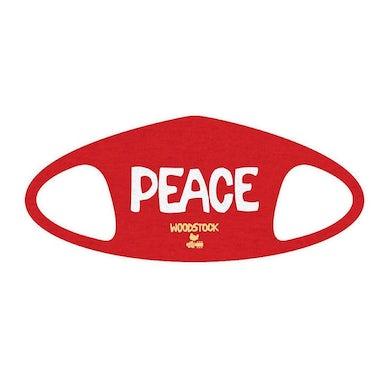 Woodstock Peace Face Mask