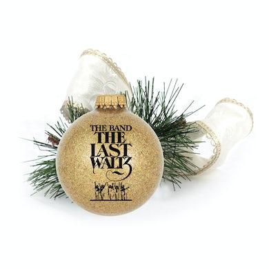 The Band Last Waltz Gold Ornament