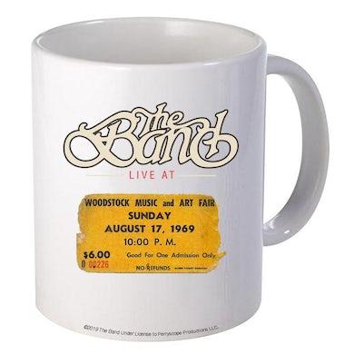 The Band Woodstock Ticket Mug