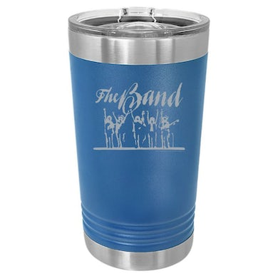 The Band Last Waltz Silhouette Polar Camel Laser Engraved Pint