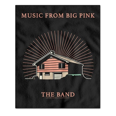 The Band Music From Big Pink Fleece Blanket