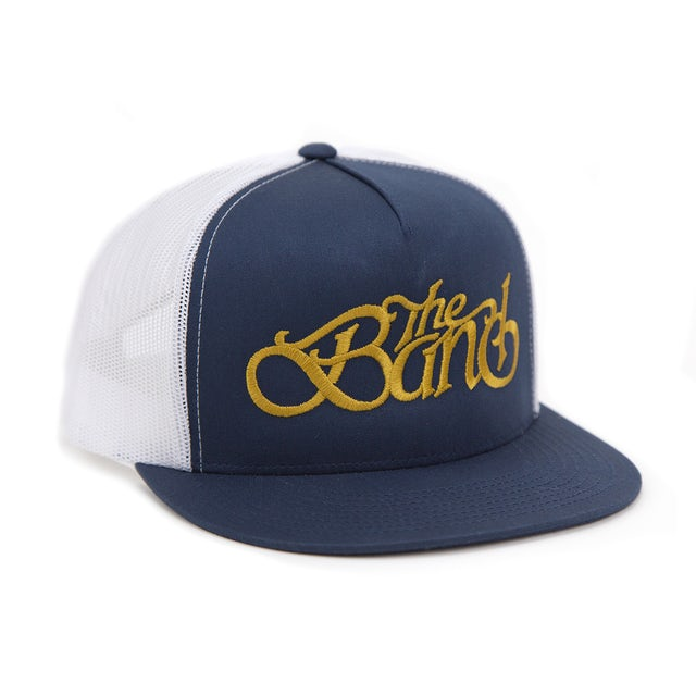 The Band Embroidered Logo Snapback Hat