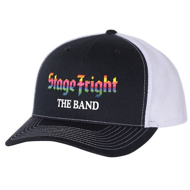 The Band Stage Fright Black Trucker Hat
