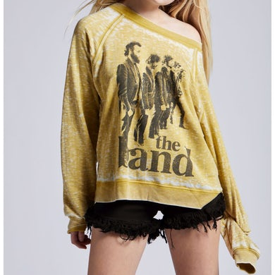 The Band Golden Ladies Pullover Sweater